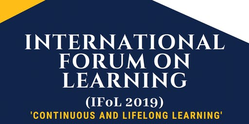 International Forum on Learning (IFOL) Malaysia 14th Nov 2019