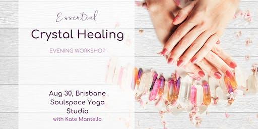 ESSENTIAL CRYSTAL HEALING | Evening Workshop | Brisbane