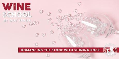 Adelaide Hills Wine Appreciation School - ROMANCING THE STONE: SHINING ROCK tickets