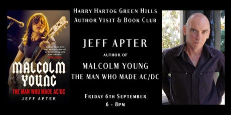 Jeff Apter Author Talk - September tickets