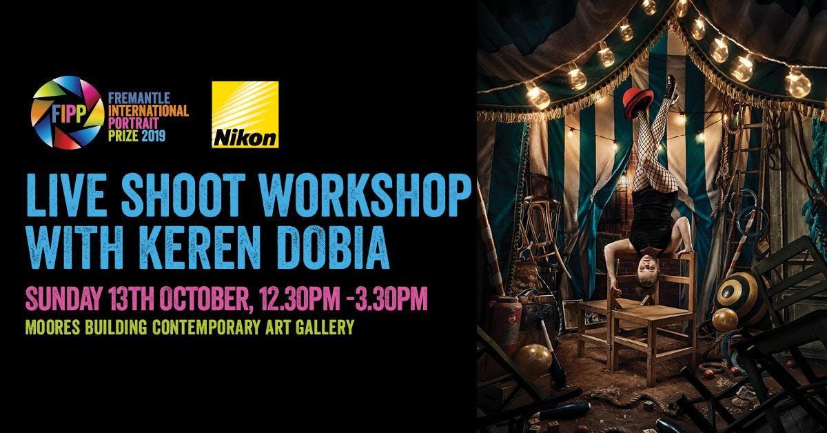 Live Shoot / Workshop with Keren Dobia