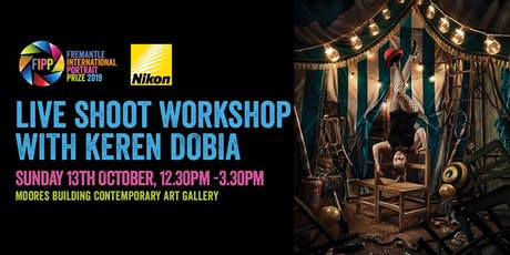 Live Shoot / Workshop with Keren Dobia tickets