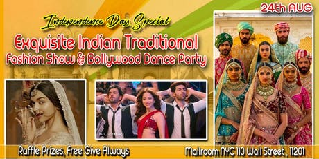 Jalwa- Independence Day Special- The Folk Flared- Indian Traditional Fashion Show & Bollywood Party tickets