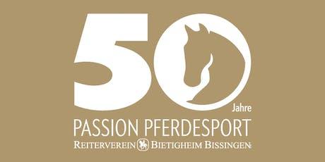 Jubiläumsfeier 50 Jahre Reiterverein Tickets