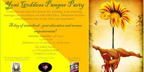 Yoni Goddess Pamper Party tickets