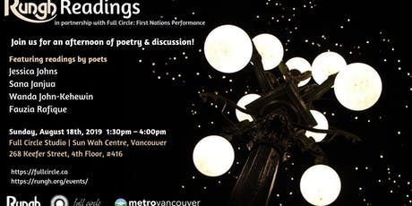 Rungh Readings with Full Circle: First Nations Performance tickets