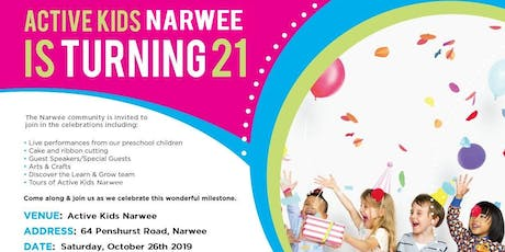 Active Kids Narwee Turns 25 tickets