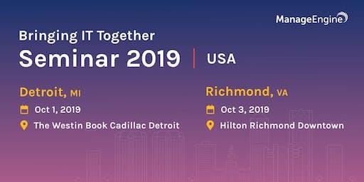 Bringing IT Together Seminar - Detroit,MI