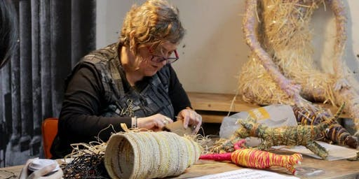 THE DESIGN SERIES: Dilly Bags with Gunditjmara Artist & Weaver, Bronwyn Razem