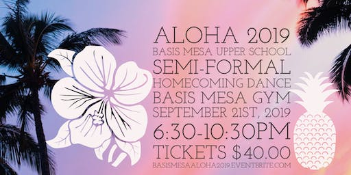 Aloha 2019 BASIS Mesa Homecoming Dance