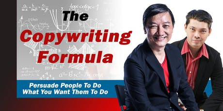 The Copywriting Formula (29 Aug 19) tickets