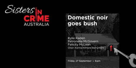 Domestic noir goes bush tickets