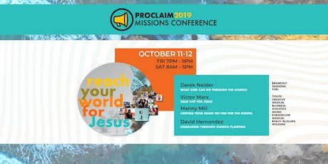 Proclaim 2019 Missions Conference tickets