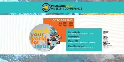 Proclaim 2019 Missions Conference