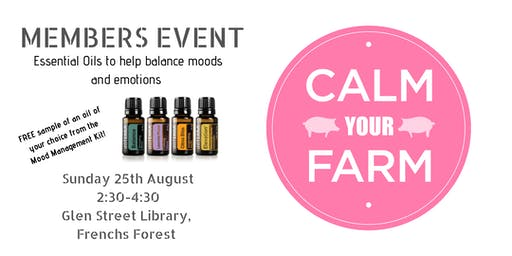 MEMBERS EVENT - Calm your Farm