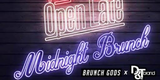 Open Late - Midnight Brunch by BRUNCH GODS x D&T Brand