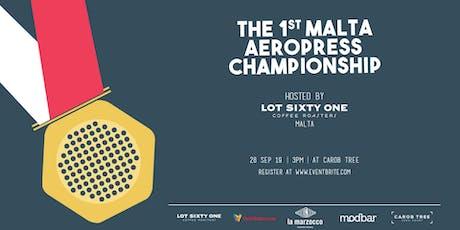 Malta Aeropress Championship Public Entrance Ticket tickets