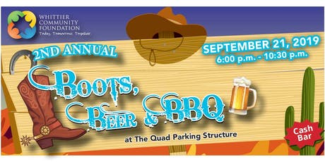 2nd Annual Boots, Beer & BBQ Fundraiser tickets