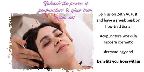 Acupuncture Facial & How It Works tickets