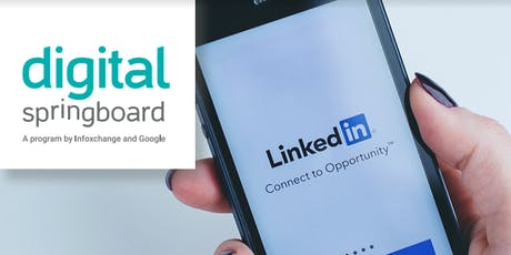 Create an online professional profile with LinkedIn tickets