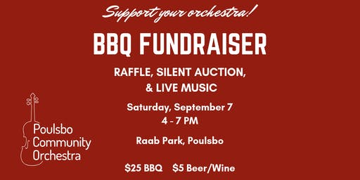 Poulsbo Community Orchestra Annual BBQ Fundraiser