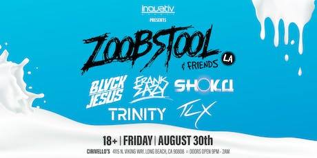 INOVATIV Events Presents: ZOOBSTOOL & FRIENDS tickets