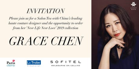 A VIP morning with China's leading haute couture designer, Grace Chen tickets