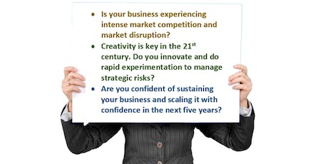 Power Up Your Creativity to Manage Strategic Risks  & Lead in Your Market tickets