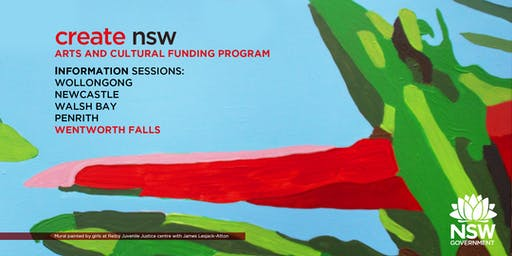 Arts and Cultural Funding Program Information + Lab Session - Wentworth Falls