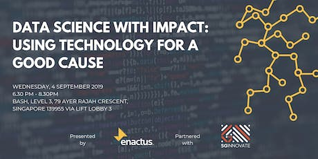 Data Science with Impact - Using Technology for a Good Cause tickets