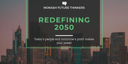 Redefining 2050 - Today's people and tomorrow's profit makes your power