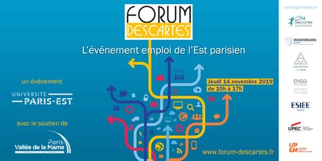 Forum Descartes 2019 billets