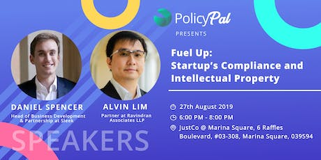 Fuel Up: Startup's Compliance and Intellectual Property  tickets