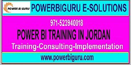 Microsoft Power BI training in Jordan,UAE tickets