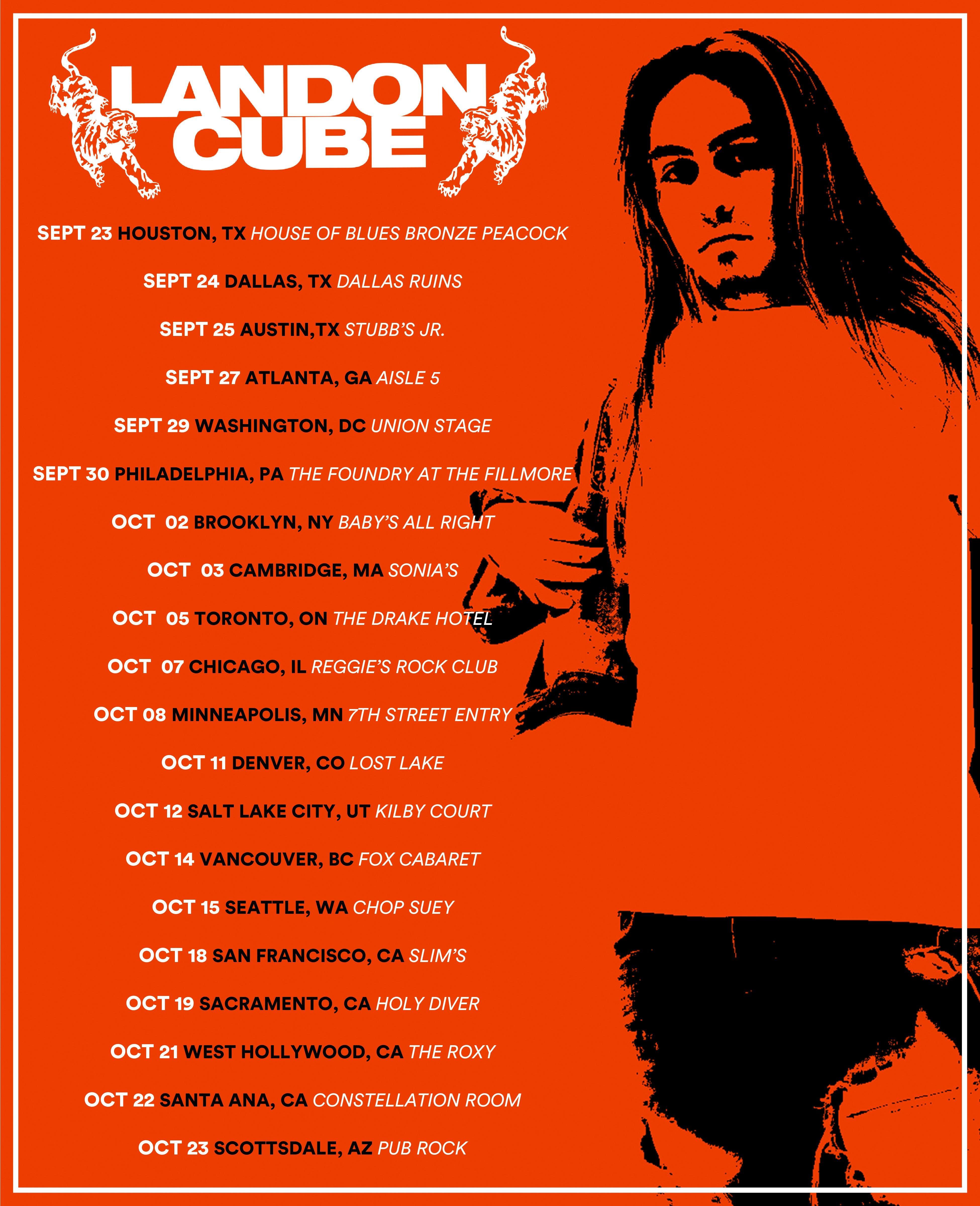Scottsdale, AZ - VIP Meet + Greet UPGRADE ONLY Landon Cube Orange Tour