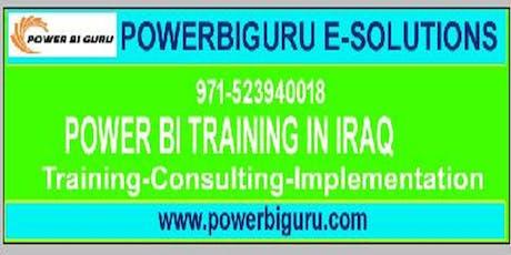 powerbi training in iraq tickets