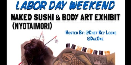 NAKED SUSHI & BODY ART EXHIBIT LOS ANGELES tickets