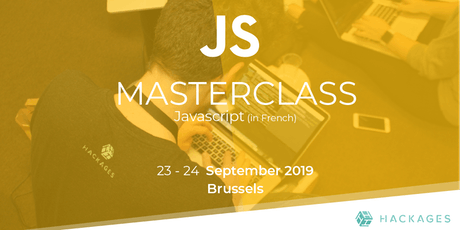 MasterClass JavaScript (FR) billets