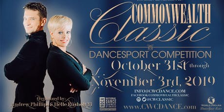Commonwealth Classic Dancesport Competition 2019 tickets