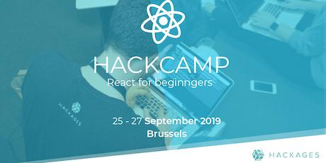 HackCamp React for Beginners billets