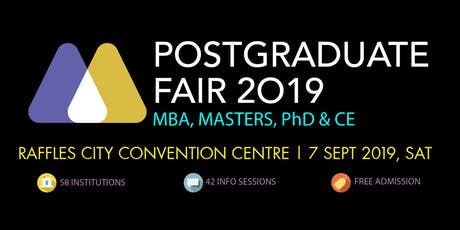 HeadHunt Postgraduate Fair - 7 Sep 2019 tickets