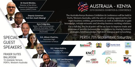 Australia - Kenya Business Exhibition and Conference 2019 tickets