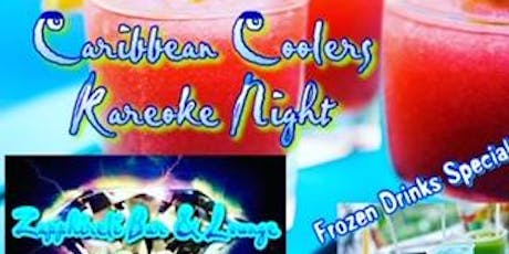 Caribbean Coolers Kareoke Night  tickets