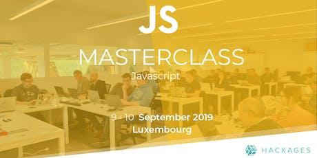 MasterClass JavaScript tickets