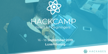 HackCamp React for Beginners billets