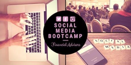Social Media Bootcamp: Financial Advisors tickets