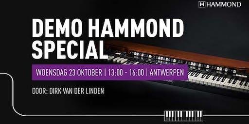 Hammond Special bij Bax Music Antwerpen