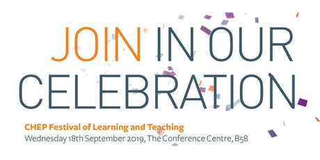 CHEP Festival of Learning and Teaching tickets