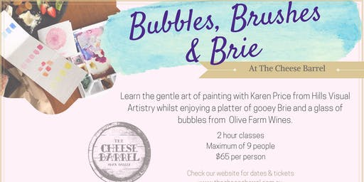 Bubbles Brushes & Brie - 7th September