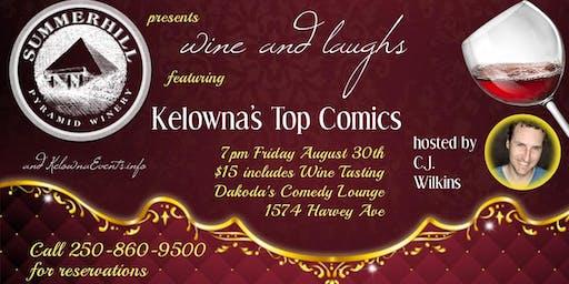 Summerhill Pyramid Winery presents Wine & Laughs at Dakoda's Comedy Lounge